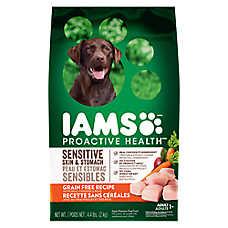 Iams® ProActive Health Sensitive Skin & Stomach Adult Dog Food