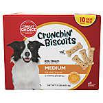 Grreat Choice® Chrunchin' Biscuits Medium Dog Treat