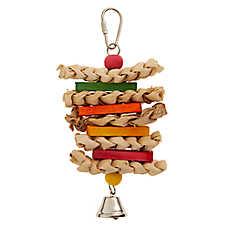 All Living Things® Corn Husk Sandwich Bird Toy