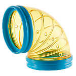 All Living Things® Tiny Tales™ Curved Transport Tubes™ Small Pet Tunnel