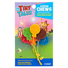 All Living Things® Tiny Tales™ Balloon Small Pet Loofah Chew