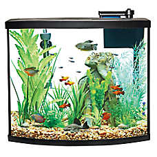 sale $129.99 Top Fin® bow front aquarium starter kits, 36 gal.
