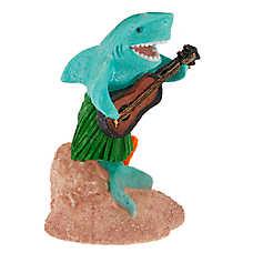 Top Fin® Luau Shark Aquarium Ornament