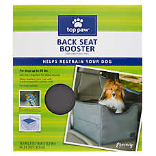 Top PawR Back Seat Booster Pet Car