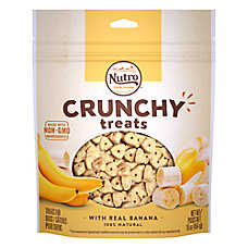 NUTRO® Crunchy Treats Dog Treat - Non-GMO, Banana