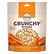 NUTRO® Crunchy Treat Dog Treat -  Non-GMO, Chicken & Carrot
