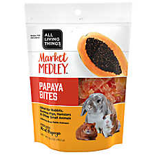 All Living Things® Market Medley™ Papaya Bites Small Pet Treats