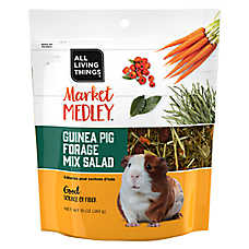 All Living Things® Market Medley™ Guinea Pig Forage Mix Salad
