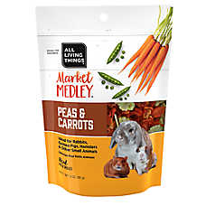 All Living Things® Market Medley™ Peas & Carrots Small Pet Treats