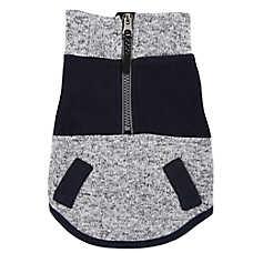 Top Paw® Zippered Fleece Pet Sweatshirt