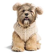 Top Paw® Bear Fleece Pet Hoodie