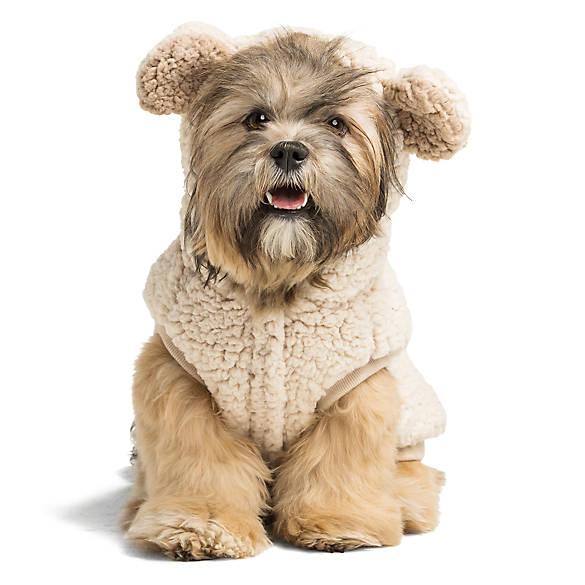 Top Paw Bear Fleece Pet Hoodie Dog Sweaters Coats Petsmart