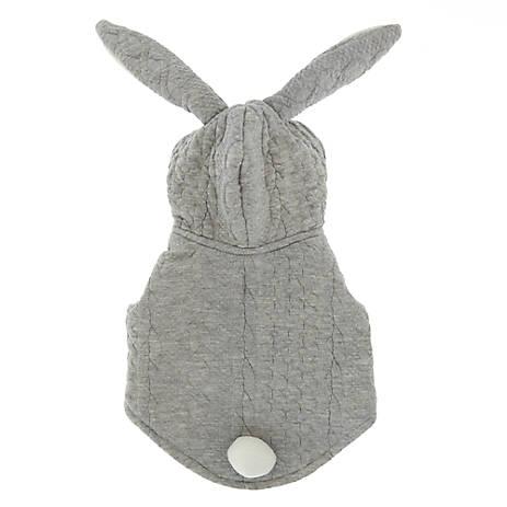 Top Paw Bunny Pet Hoodie With Ears Dog Sweaters Coats Petsmart