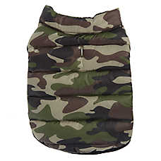 Top Paw® Camo Packable Puffer Pet Vest