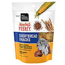 All Living Things® Market Medley™ Shortbread Snacks Small Pet Treats