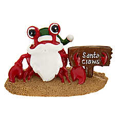 Top Fin® Santa Claws Crab Holiday Ornament