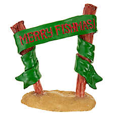 "Top Fin® ""Merry Fishmas!"" Holiday Ornament"