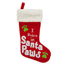 Merry & Bright™ Holiday Santa Paws Pet Stocking