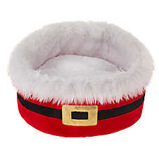 Merry & Bright™ Holiday Santa Cuddler Pet Bed