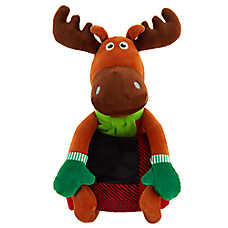 Merry & Bright™ Holiday Blanket & Moose Toy Gift Set