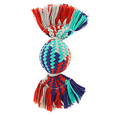 Top Paw® Rope Ball Dog Toy - Squeaker