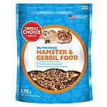 Grreat Choice® Nutritious Hamster & Gerbil Food