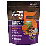 All Living Things® The Power of 5™ Hamster & Gerbil Diet