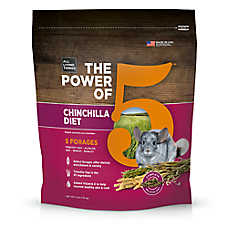 All Living Things® The Power of 5™ Chinchilla Diet