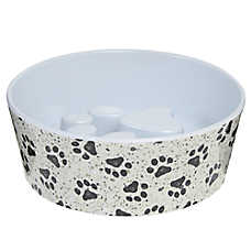 Top Paw® Slow Feed Dog Bowl