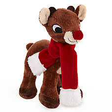 Rudolph® Holiday Reindeer Dog Toy - Plush, Squeaker