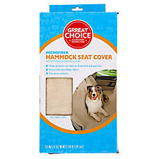 Grreat Choice® Microfiber Hammock Pet Seat Cover