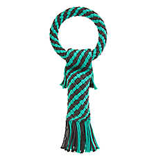 Top Paw® Rope Tug Dog Toy - Squeaker