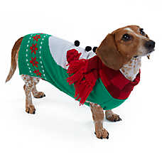 Merry & Bright™ Holiday Snowman Pet Sweater