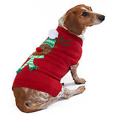 Merry & Bright™ Holiday Reindeer Pet Sweater