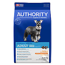 Authority® Small Breed Adult Dog Food - Chicken & Rice