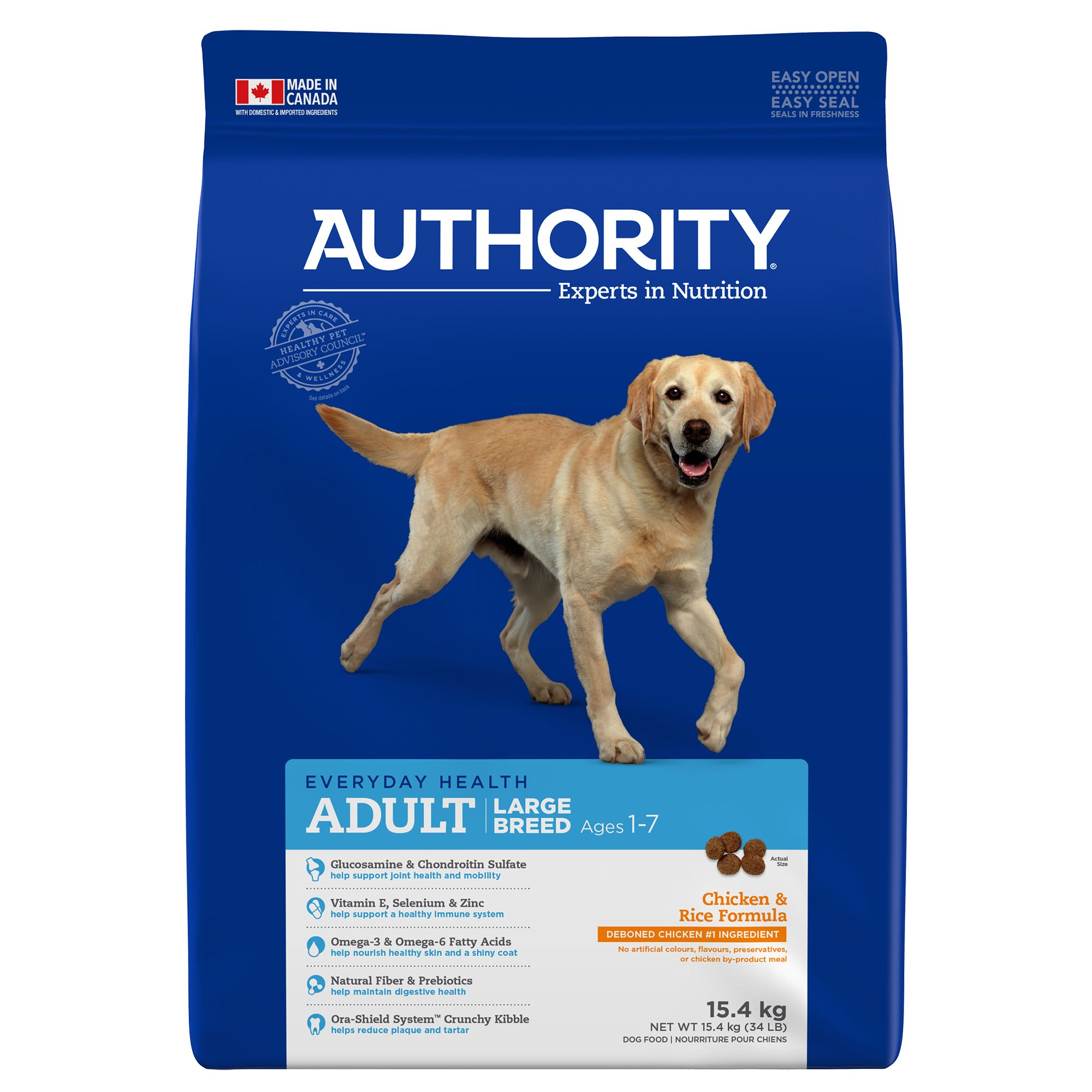 Authority® Large Breed Adult Dog Food