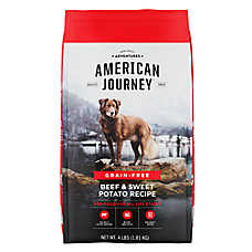 American Journey ™ Dry Dog Food - Natural, Grain Free, Beef & Sweet Potato