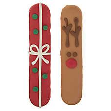 Merry & Bright ™ Holiday Cookies Reindeer Sticks Dog Treats - Apple Cinnamon, 2 Count