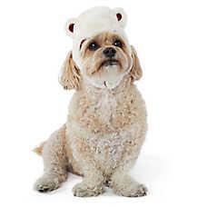 Top Paw® Holiday Polar Bear Pet Hat