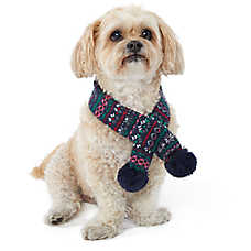 Top Paw® Holiday Fair Isle Pet Scarf