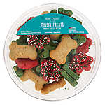 Merry & Bright ™ Tinsel Treats Drizzled Cookies Dog Treats - Peanut Butter, 8 oz