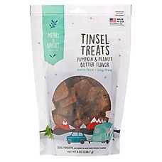 Merry & Bright ™ Tinsel Treats Barkin' Bars Dog Treats - Pumpkin & Peanut Butter, 8 Oz