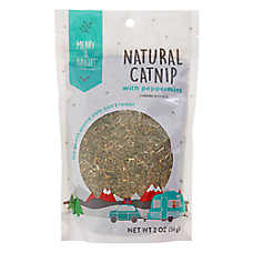 Merry & Bright™ Holiday Natural Catnip with Peppermint