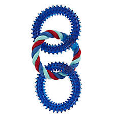 Top Paw® Triple Ring Rope Dog Toy