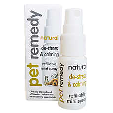 Pet Remedy Natural De-Stress & Calming Refillable Mini Spray for Pets