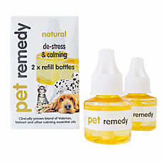 Pet Remedy Natural De-Stress & Calming Deffuser Refills for Pets, 2 count