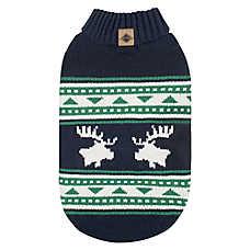 Beaver Canoe Knit Dog Sweater - Moose
