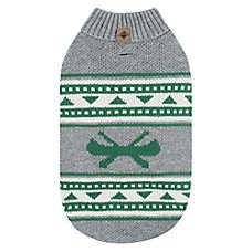 Beaver Canoe Knit Dog Sweater - Canoe