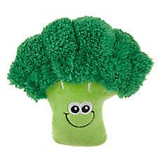 Top Paw® Fall Feast Broccoli Dog Toy - Plush, Squeaker