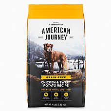 American Journey ™ Dry Dog Food - Natural, Grain Free, Chicken & Sweet Potato